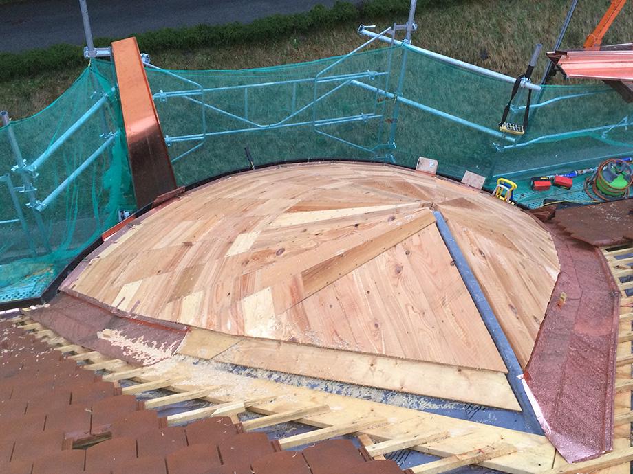 Travaux de toiture pour le centre de loisir de la mairie d'Argonay
