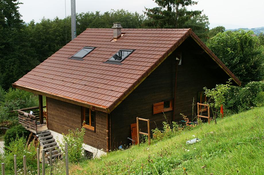 Remplacement de toiture à Annemasse en Haute-Savoie
