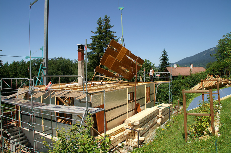 Remplacement complet de la toiture