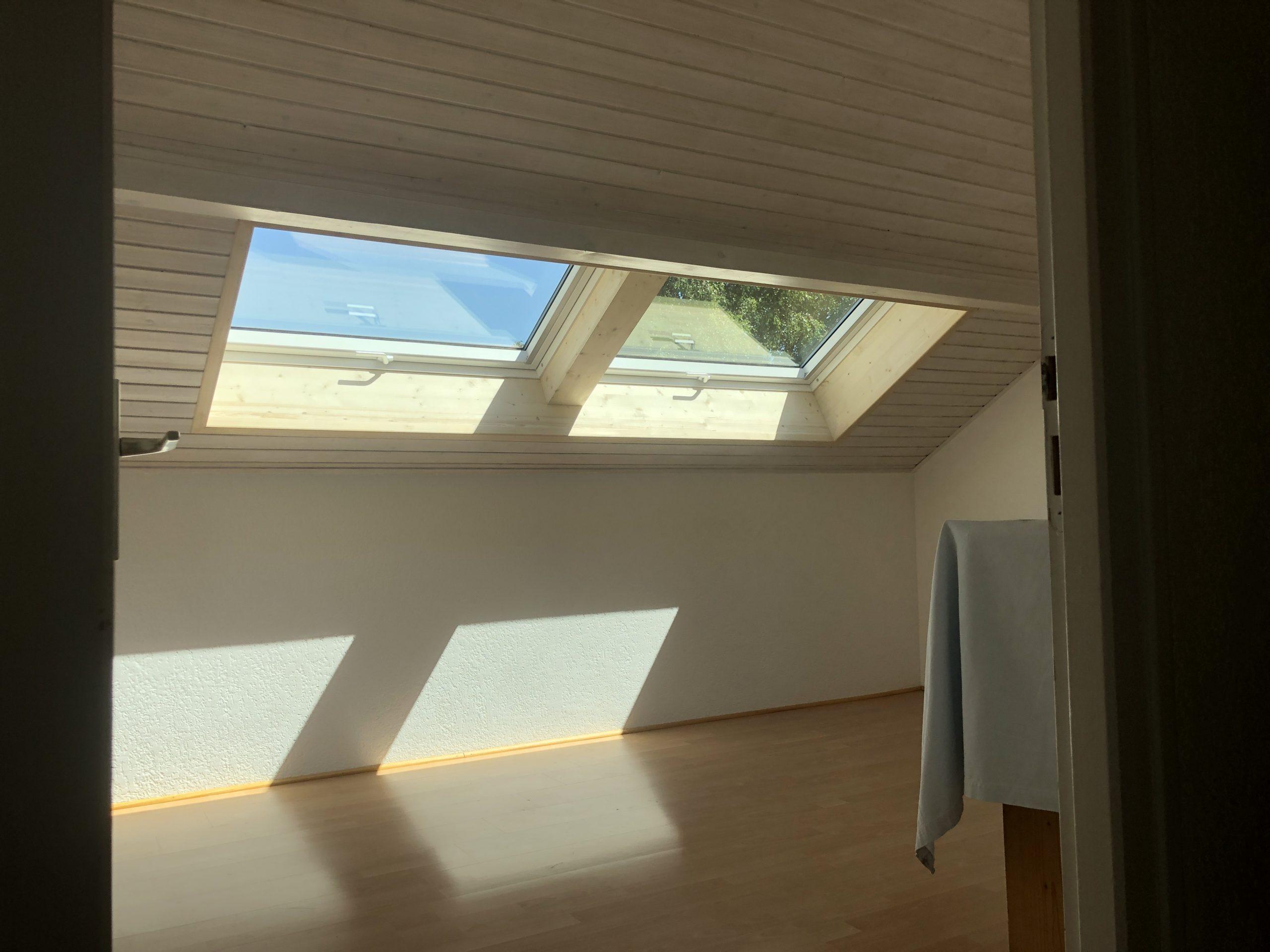 Création d'une double fenêtre de toit VELUX à Marcellaz-Albanais en Haute-Savoie