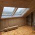 Création d'une double fenêtre de toit VELUX à Cusy