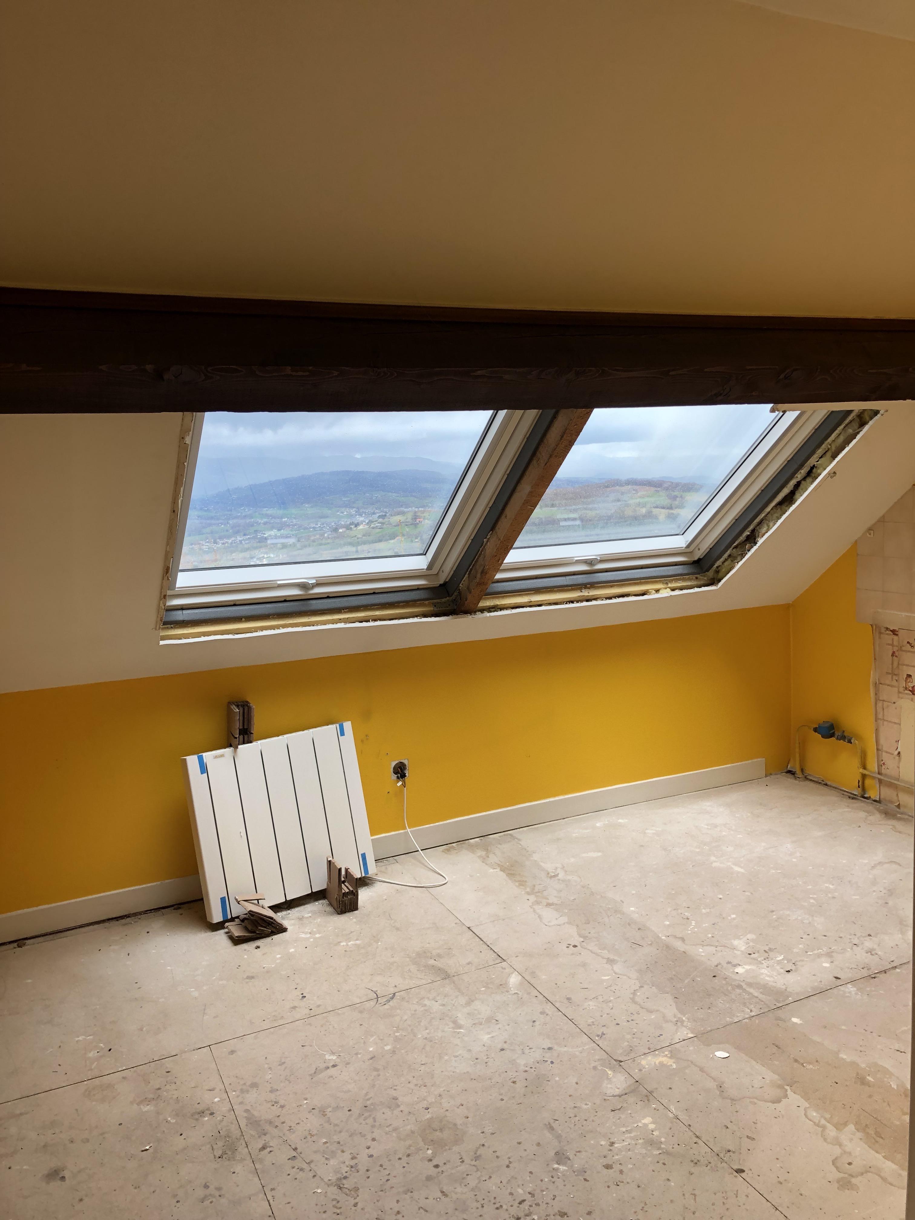 Fenêtre de toit VELUX à Trévignin