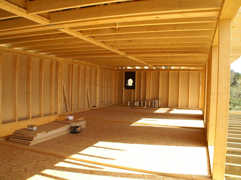 Structure et charpente en ossature bois