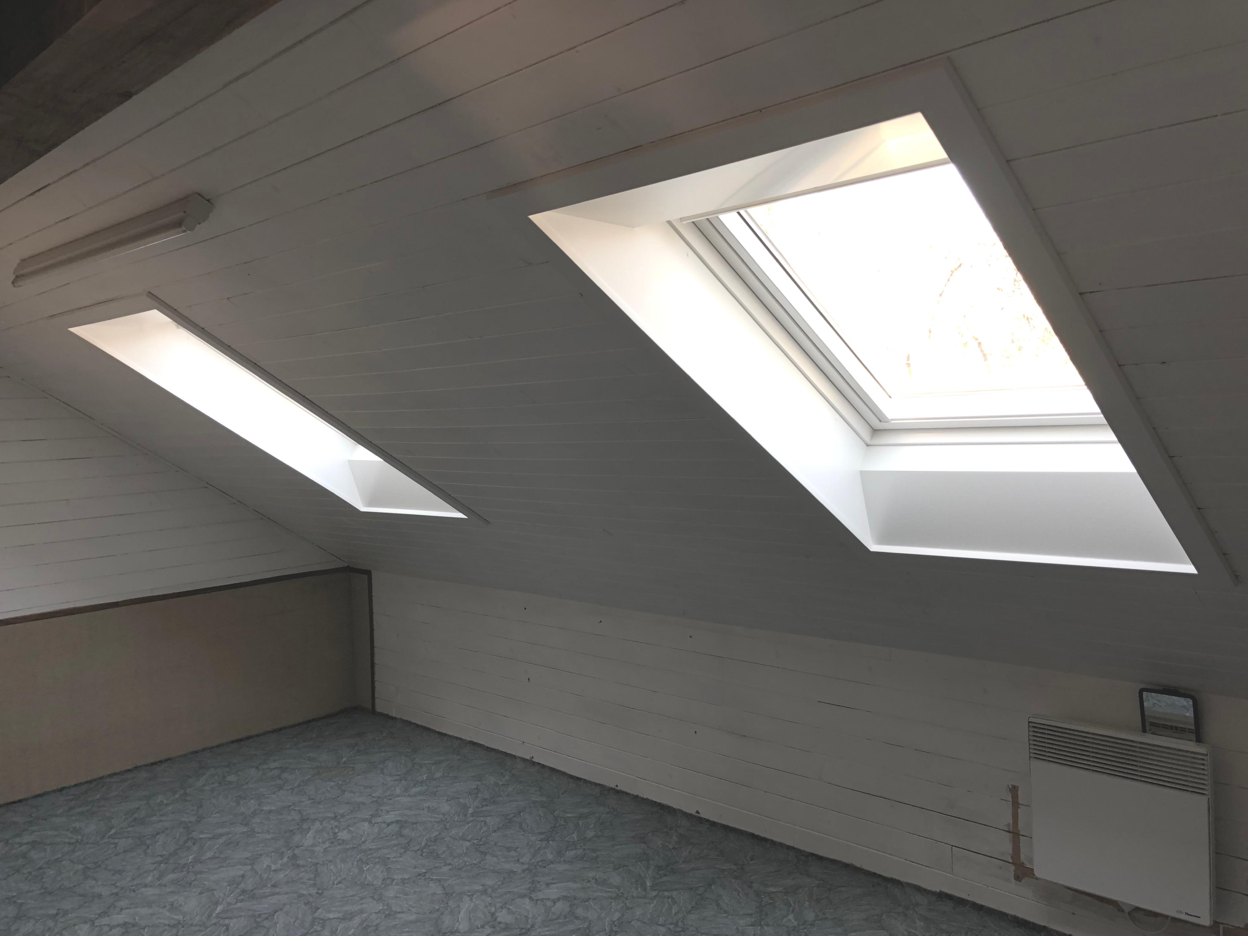 Pose de 2 fenêtres de toit VELUX à Saint-Jorioz en Haute-Savoie